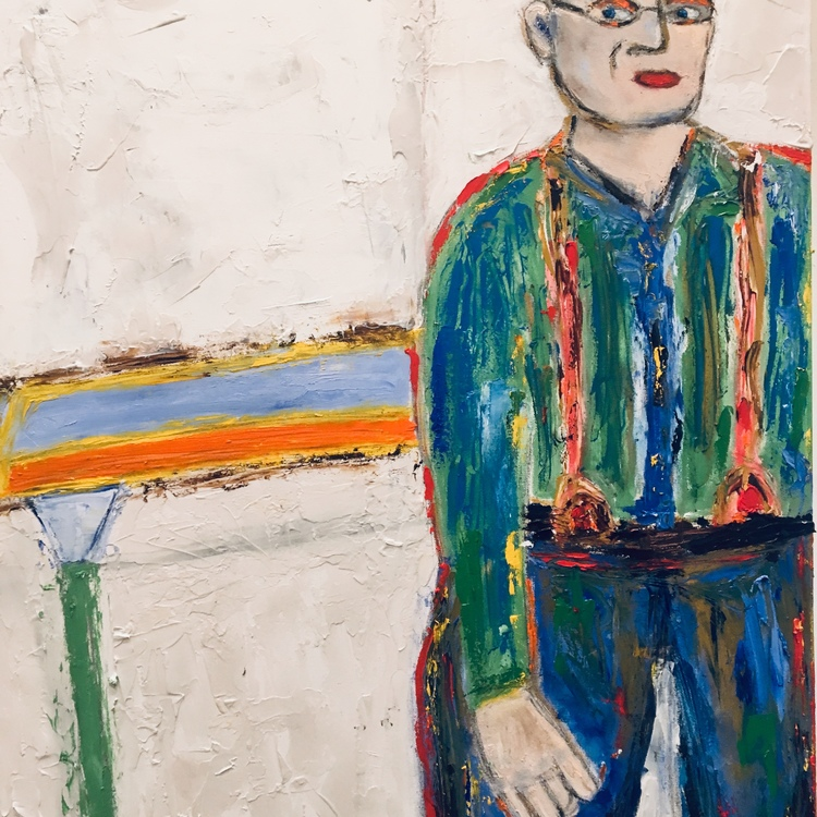 Hockney In The Garage